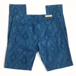 Sanctuary Denim | Blue Diamond Skinny  Print Jeans